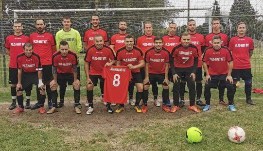 Ladánybenén hat éve indult a megyei bajnokságban a focicsapat