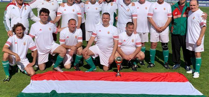 Megvédte a címét a Magyar Parlamenti futballválogatott