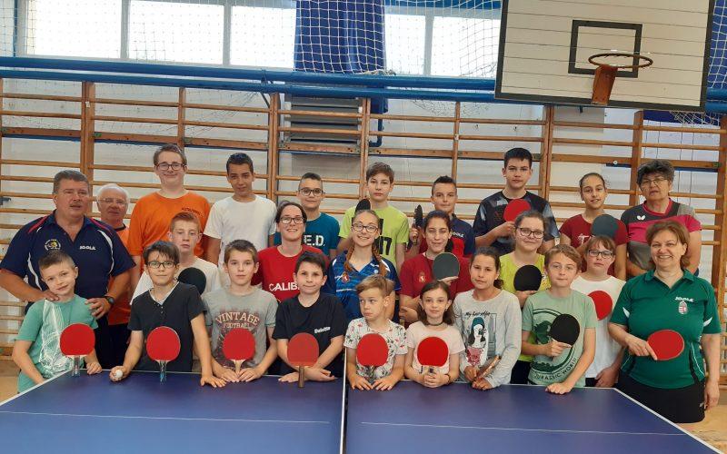 A megyei bajnokságban szerepel a Lajosmizsei Asztalitenisz Club